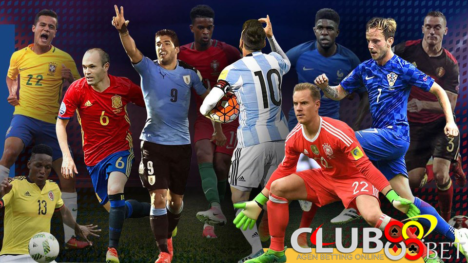 pemain barcelona piala dunia 2018