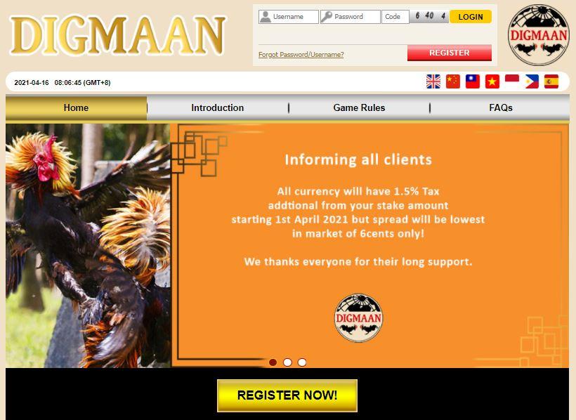 situs judi agen sabung ayam online digmaan